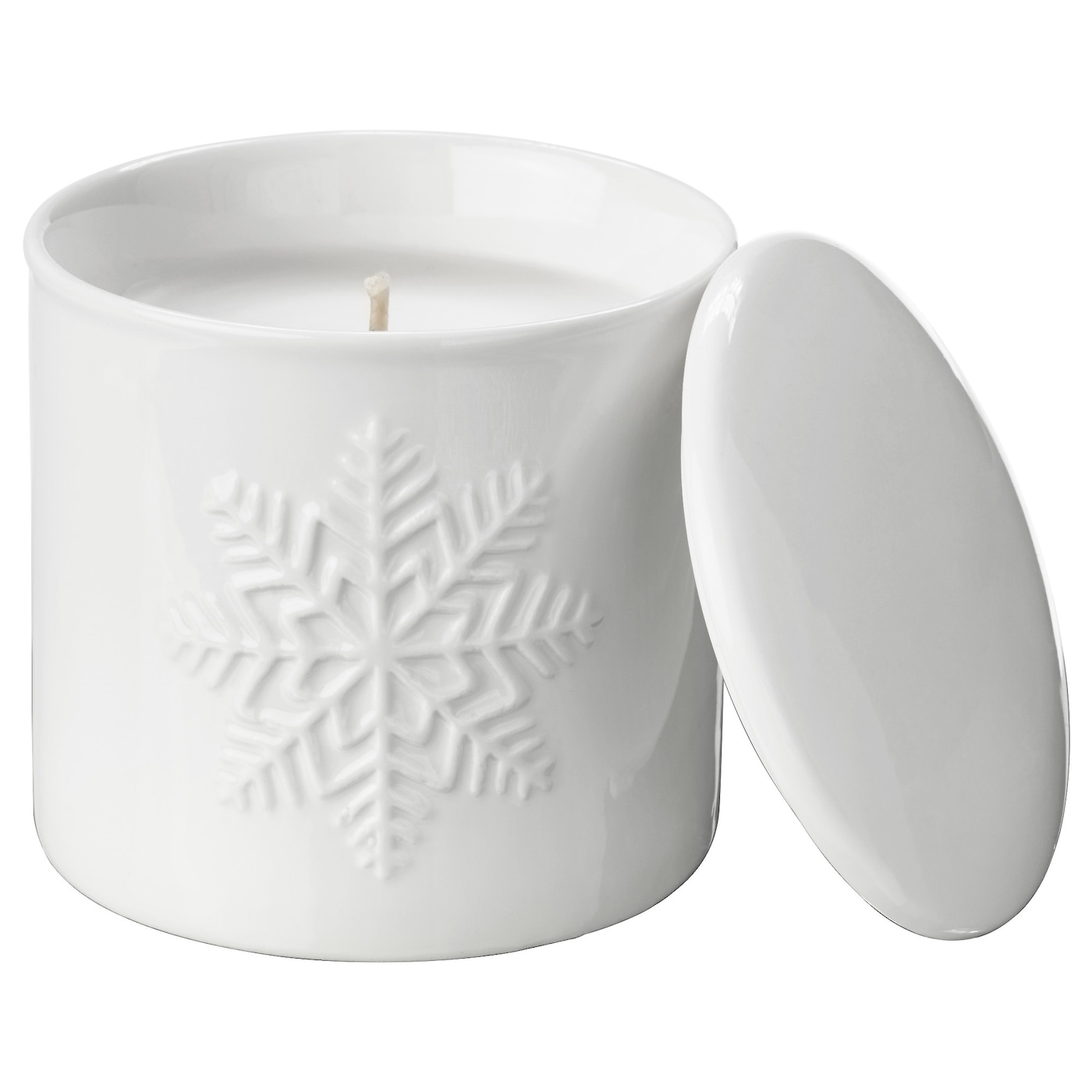 IKEA VINTER 2017 scented candle in pot with lid