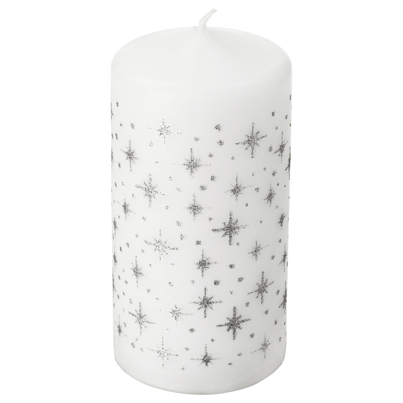 IKEA VINTER 2017 unscented block candle