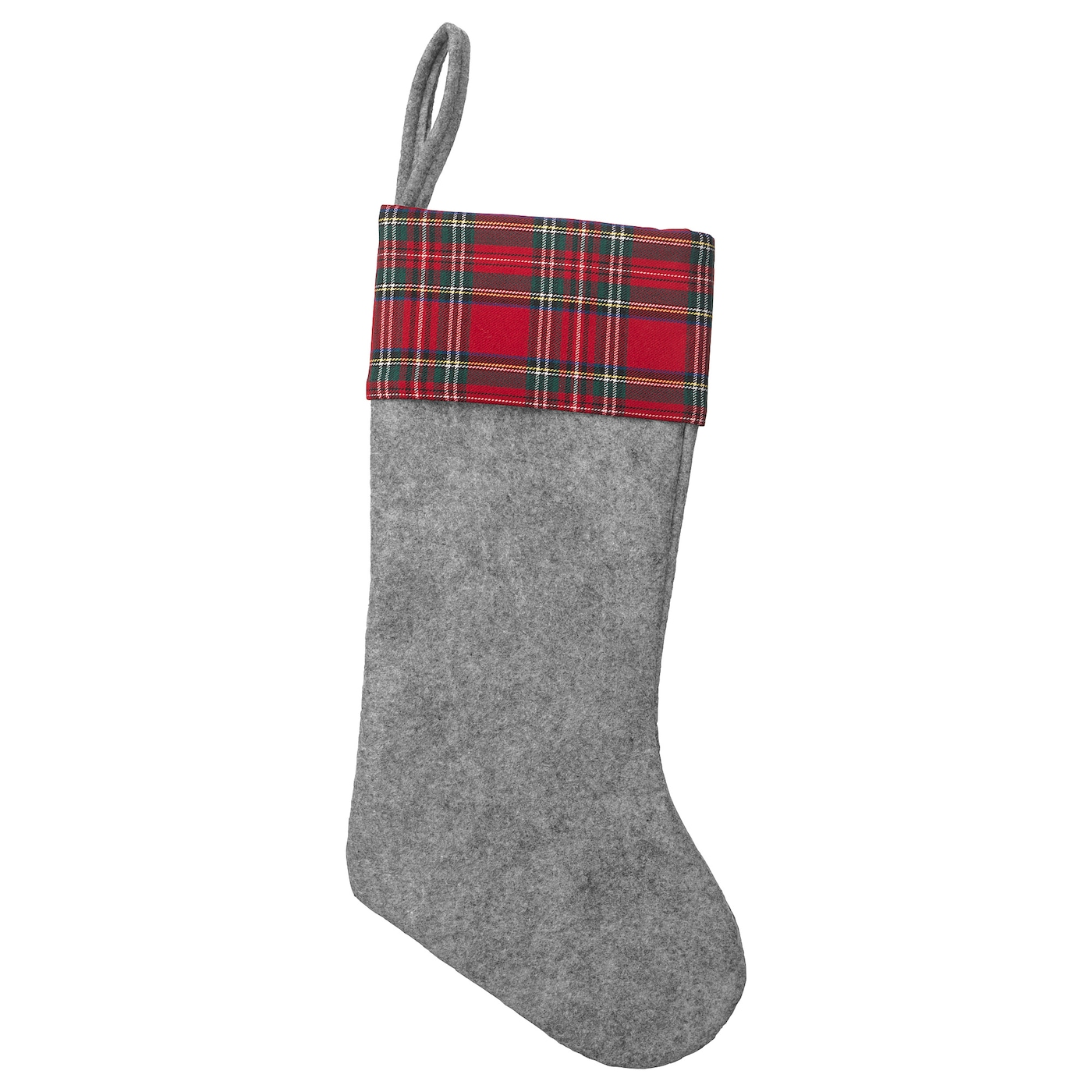 VINTER 2018 Christmas stocking Grey 47 cm - IKEA