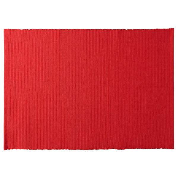 VINTER 2020 Place mat, red, 35x45 cm