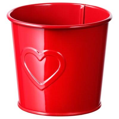 VINTER 2020 Plant pot, red, 9 cm