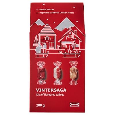 VINTERSAGA Mix of flavoured toffees, 200 g