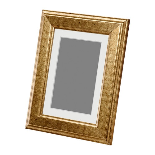 IKEA VIRSERUM frame PH-neutral mount; will not discolour the picture.