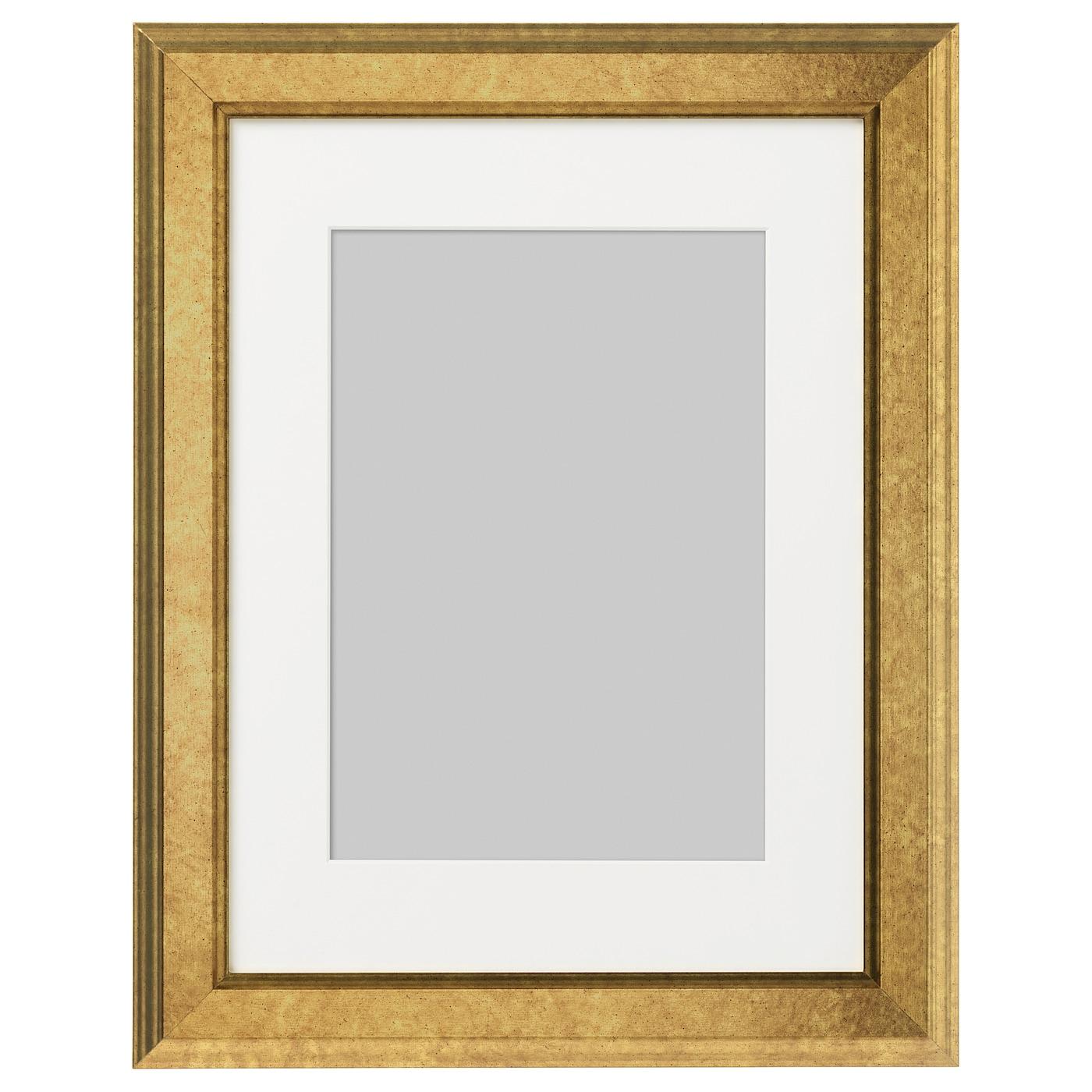 VIRSERUM Frame Gold-colour 30 x 40 cm - IKEA
