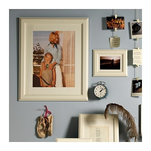 IKEA VIRSERUM frame The mount enhances the picture and makes framing easy.