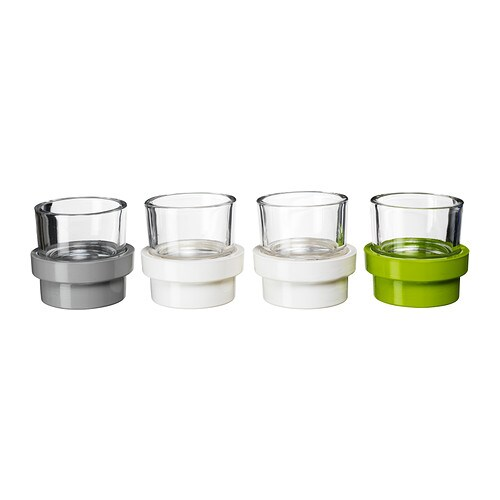 VISKA Tealight holder, set of 8 IKEA
