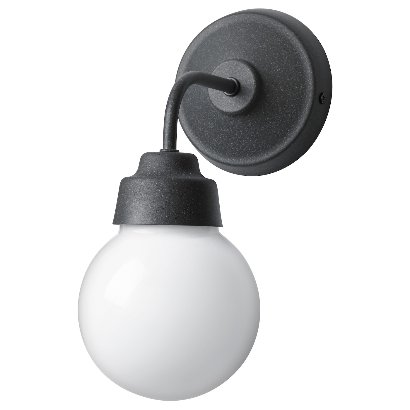 IKEA VITEMÖLLA wall lamp Flexible; can be mounted with the light turned downwards or upwards.