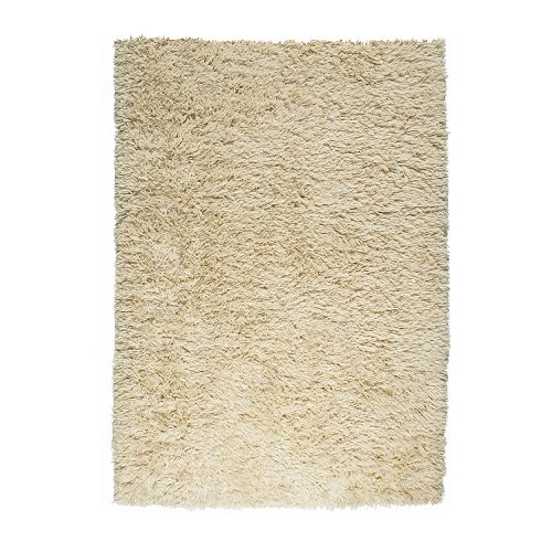 IKEA VITTEN rug, high pile The high pile dampens sound and provides a soft surface to walk on.