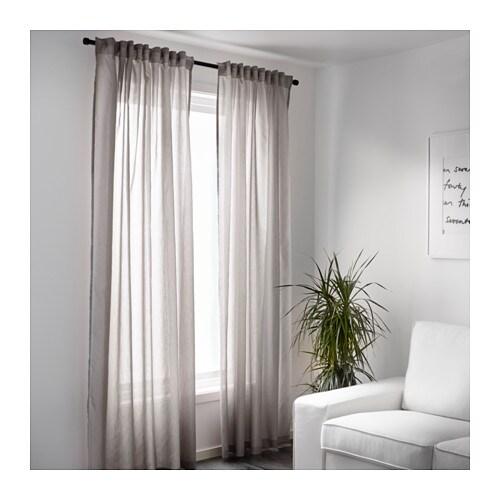 IKEA VIVAN curtains, 1 pair The curtains can be used on a curtain rod ...