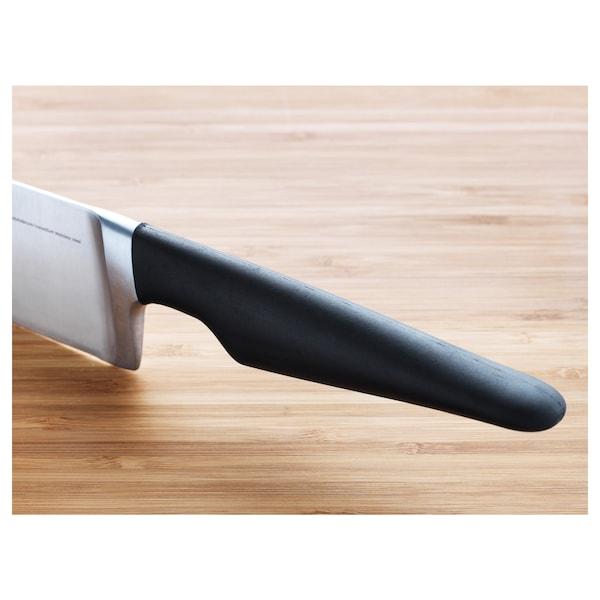 VÖRDA Cook's knife, black, 17 cm