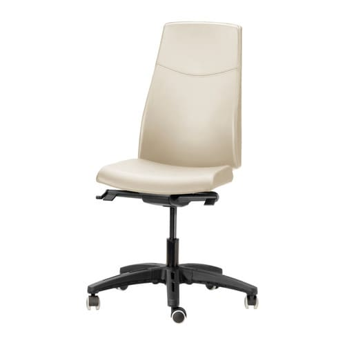 VOLMAR Swivel chair - light beige - IKEA