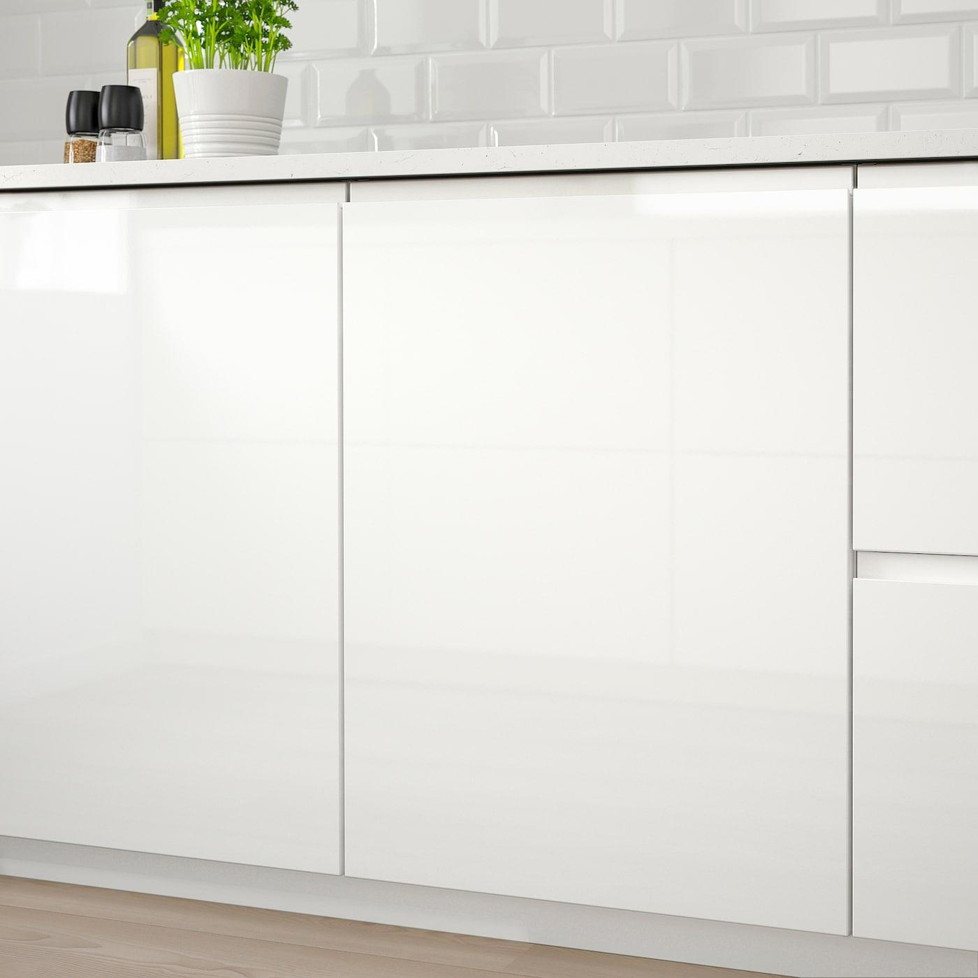 VOXTORP high gloss white, Door, 60x100