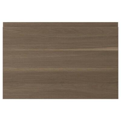 VOXTORP door walnut effect 59.6 cm 39.7 cm 2.1 cm