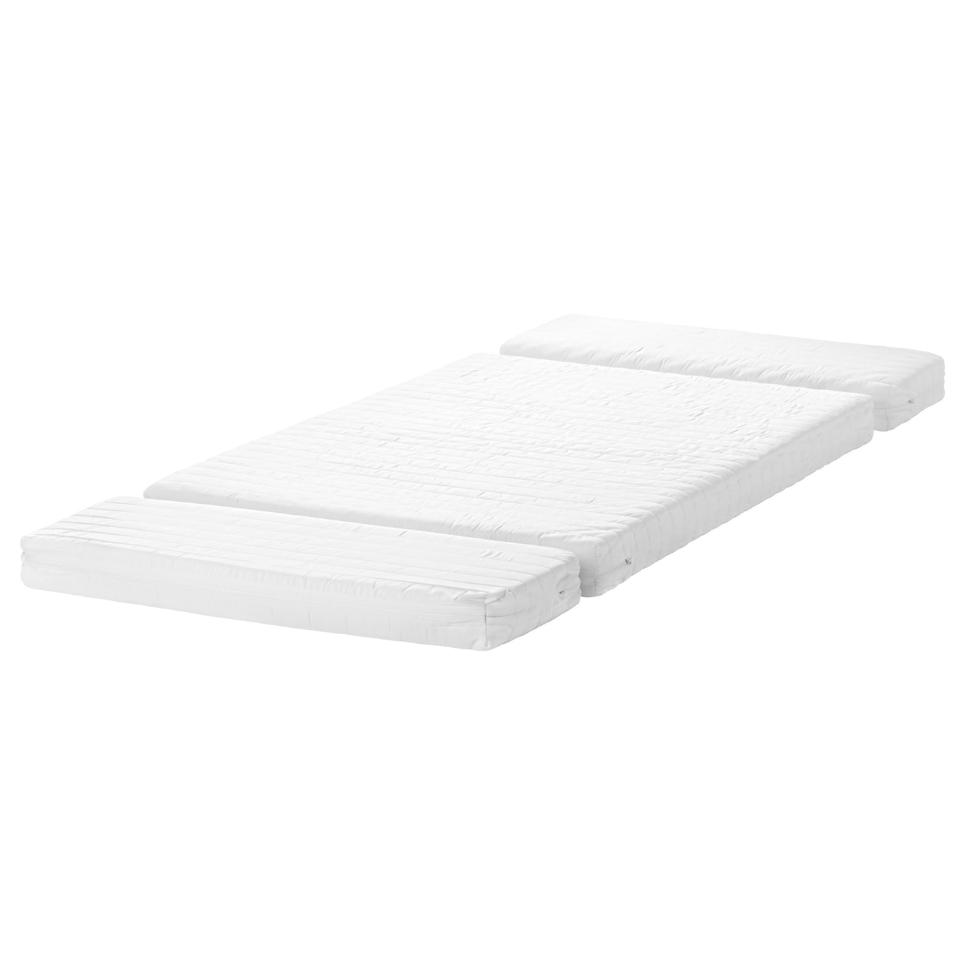 Ikea toddler bed white - Ikea Vyssa Snosa Mattress For Extendable Bed