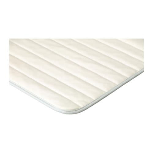 VYSSA TULTA Mattress pad IKEA Machine-washable - easy to keep clean.  Air can circulate through the pad.