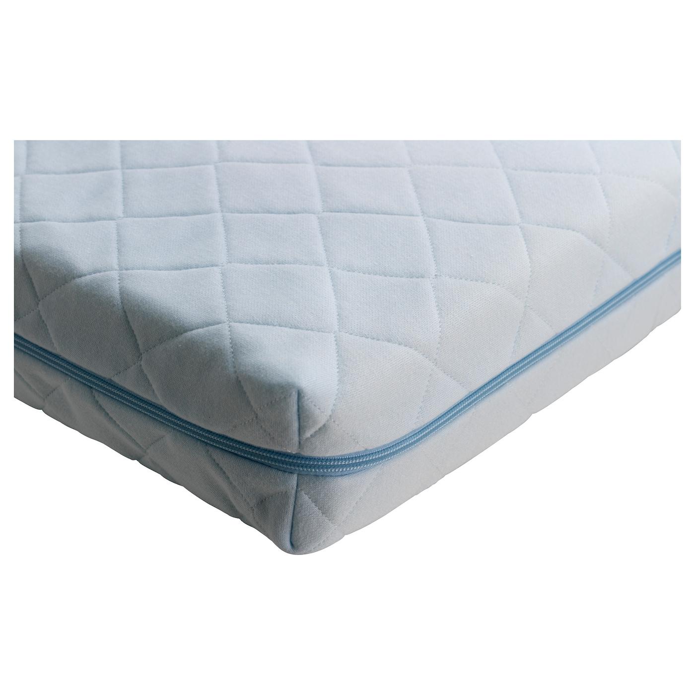 vyssa vinka mattress for cot blue 60x120 cm ikea. Black Bedroom Furniture Sets. Home Design Ideas