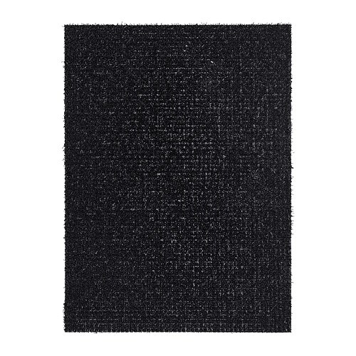 IKEA YDBY door mat Easy to keep clean - just shake or rinse with water.