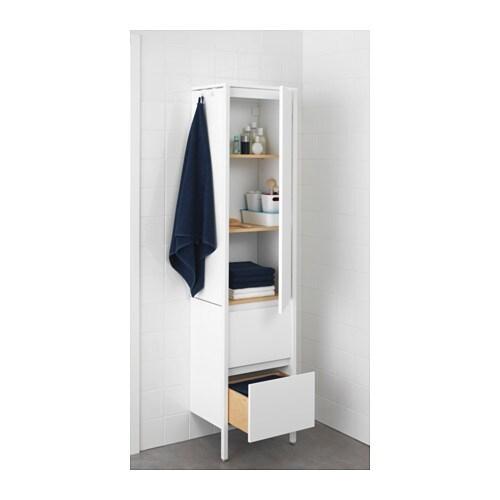Yddingen high cabinet white 45x189 cm ikea - Ikea asciugamani ...