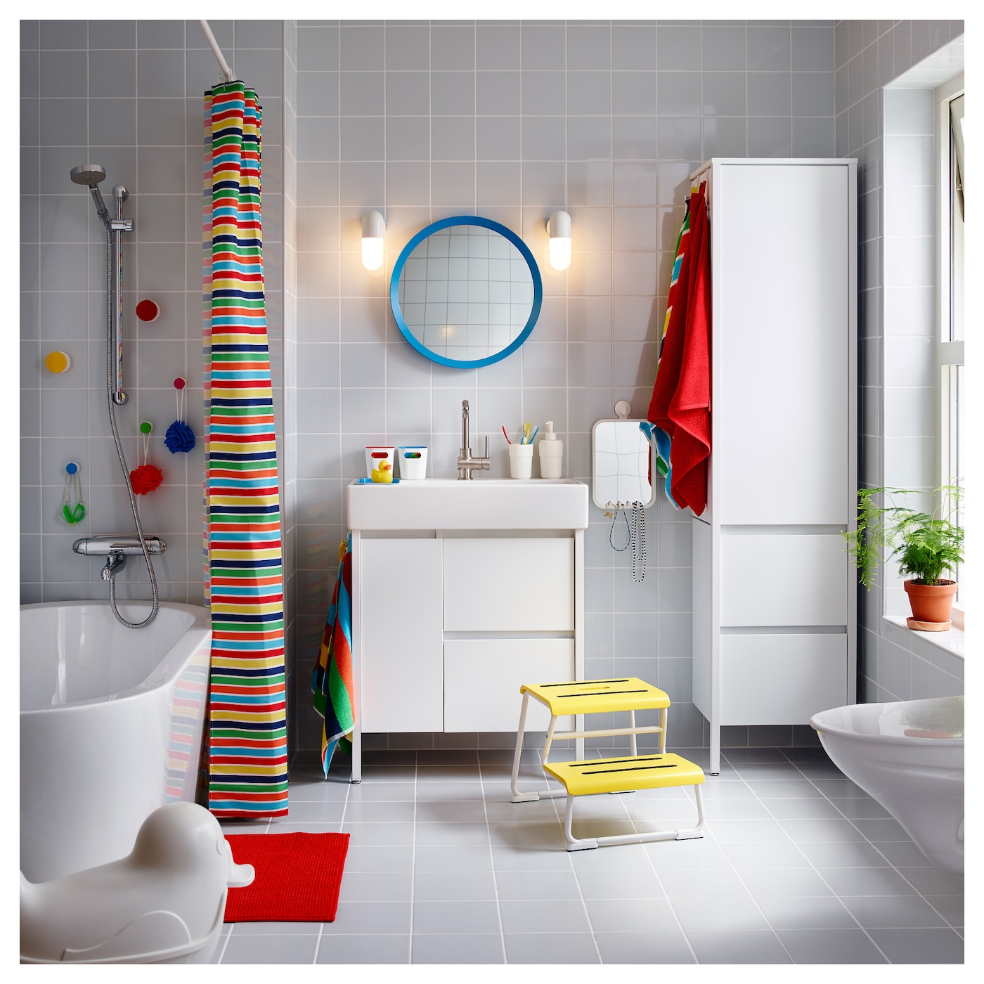 IKEA YDDINGEN High Cabinet Hooks For Towels Or Other Things That You Want  To Have Within