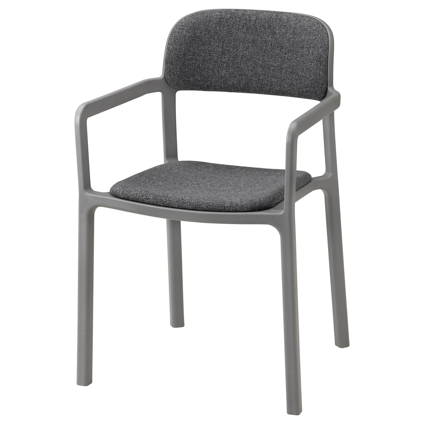 IKEA YPPERLIG chair with armrests Lightweight, easy to lift and move. Easy to clean