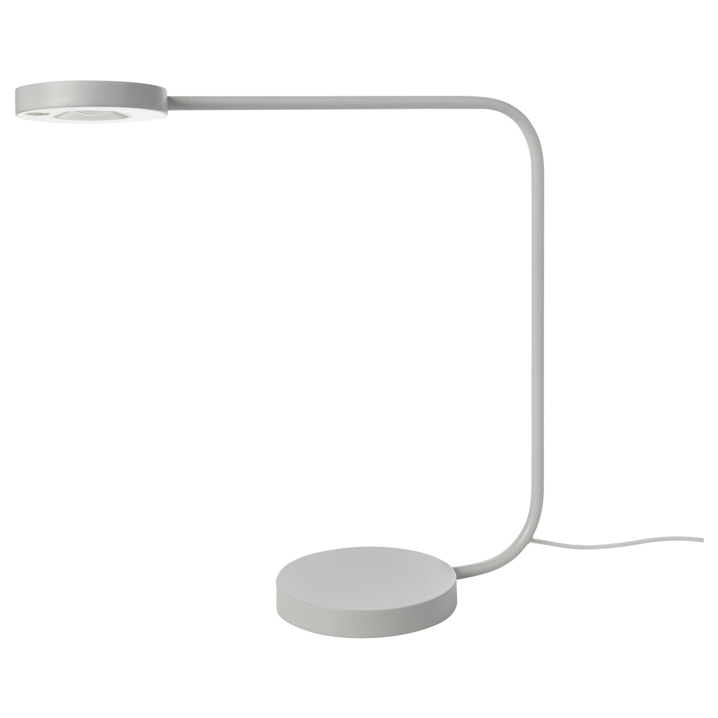 ypperlig led table lamp light grey ikea. Black Bedroom Furniture Sets. Home Design Ideas