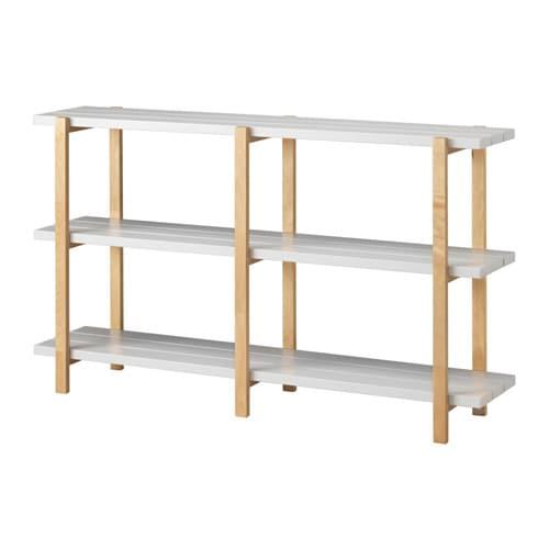 ypperlig shelving unit light grey birch 150 x 35 x 90 cm ikea rh ikea com ikea birch shelving unit ikea billy birch shelf