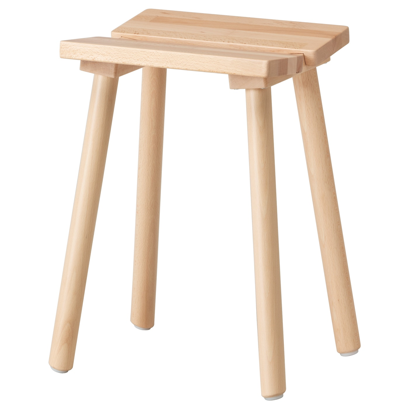 Ikea Ypperlig Stool Solid Beech Is A Hardwearing Natural Material