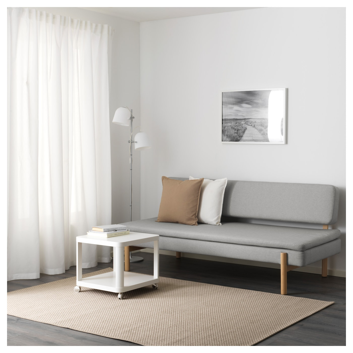 IKEA YPPERLIG three-seat sofa-bed