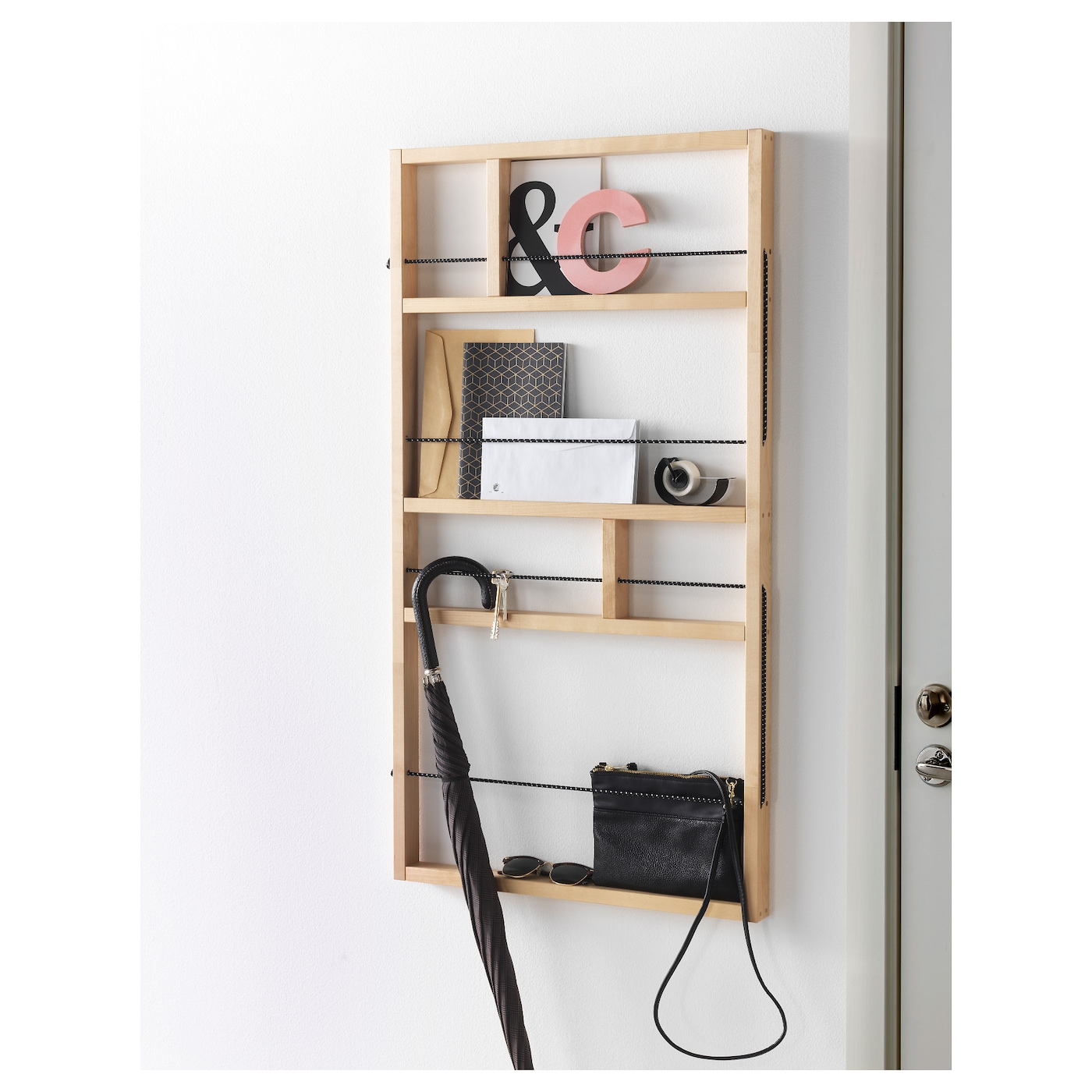 ypperlig wall shelf birch 54 x 100 cm ikea. Black Bedroom Furniture Sets. Home Design Ideas
