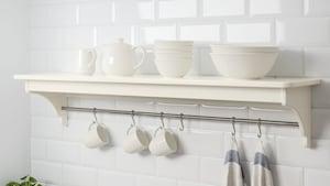 Kitchen wall storage & organisers