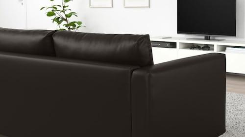 Canapea 2 locuri piele artificială