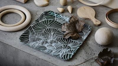 Pinggan mangkuk meja Krismas