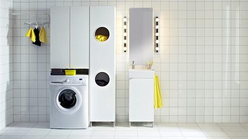 Laundry cabinets & shelving
