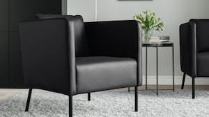 Fotelji iz pravega/umetnega usnja
