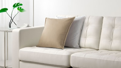 Leather/coated fabric two-seat sofas