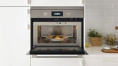 Mikroaaltouunit ja yhdistelmäuunit METOD-keittiöön