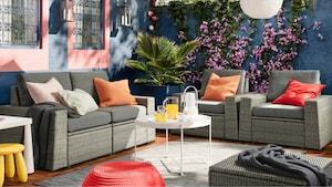 Outdoor sofa combinations