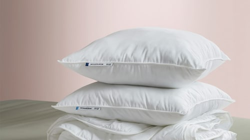 Polyester pillows