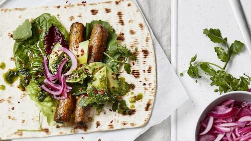 Alimentos vegetarianos y guarniciones