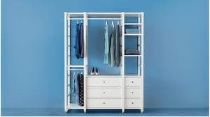 Система полок для гардеробной