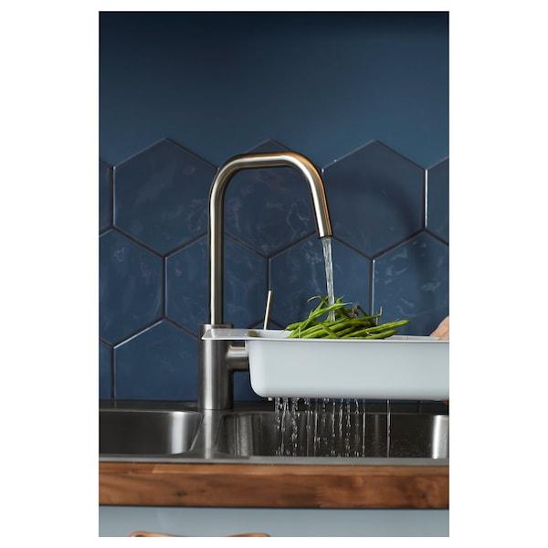 ÄLMAREN Kuhinjska miješalica za vodu, boja nehrđajućeg čelika