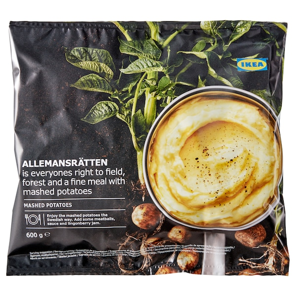 ALLEMANSRÄTTEN Pire krumpir,zamrznuti, 600 g