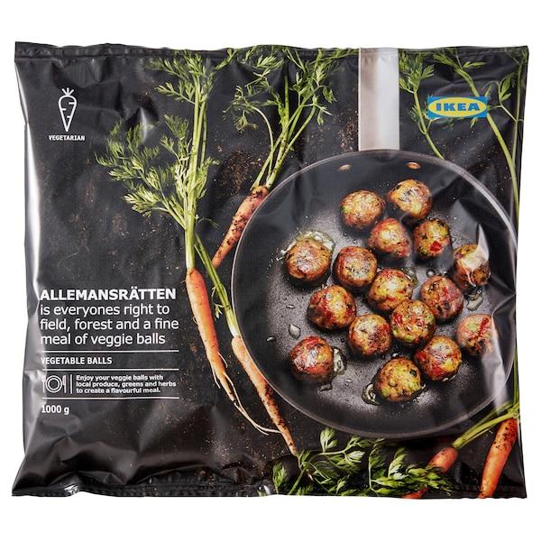 IKEA ALLEMANSRÄTTEN Vegetarijanske okruglice, zamrznuto