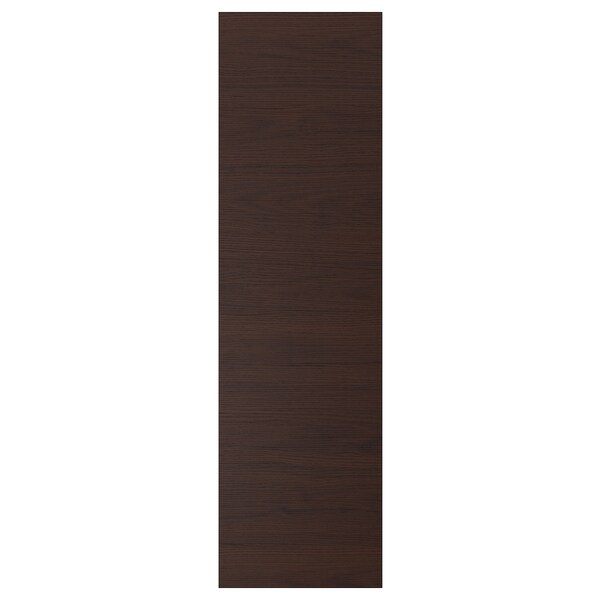 ASKERSUND Vrata, tamnosmeđa efekt jasena, 40x140 cm