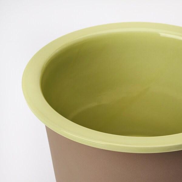 BERGAMOTT tegla za biljke u zatvorenom/na otvorenom žuto-zelena 22 cm 26 cm 19 cm 22 cm
