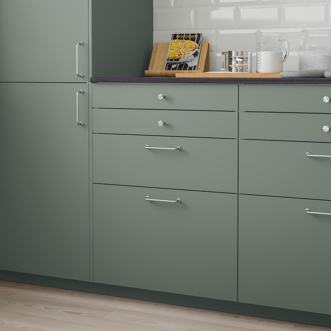 BODARP Fronta ladice, sivo-zelena, 60x40 cm