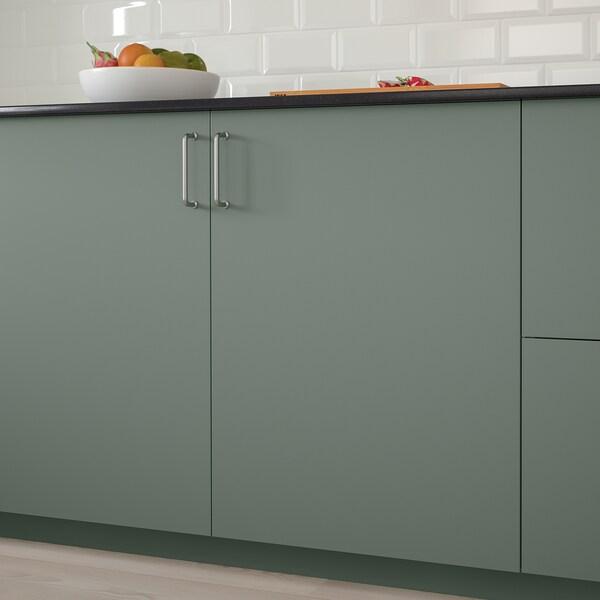 BODARP Vrata, sivo-zelena, 60x100 cm