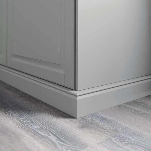 BODBYN Ukrasno postolje, siva, 221x8 cm