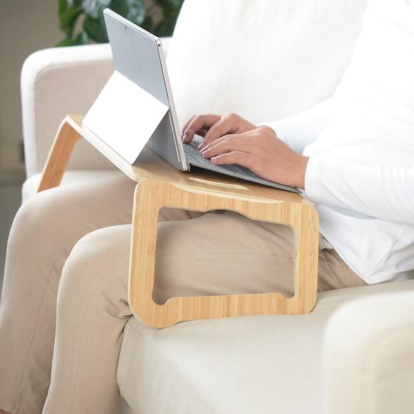 BRÄDA Držač za laptop, bambusov furnir, 42x30 cm