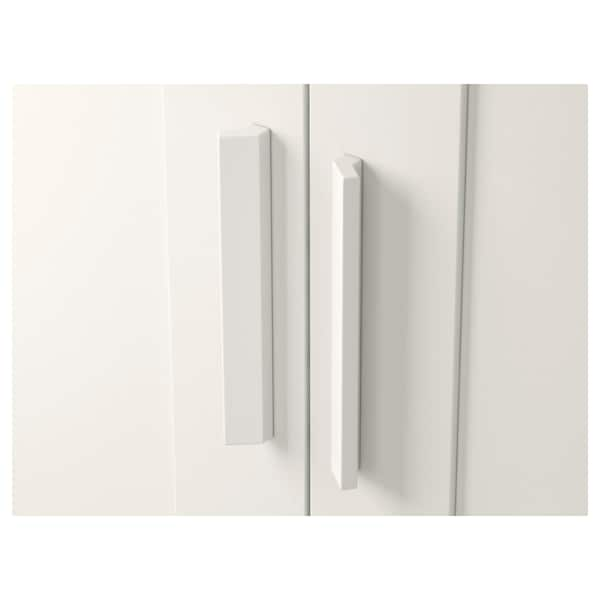 BRIMNES Ormar+2 vrata, bijela, 78x190 cm